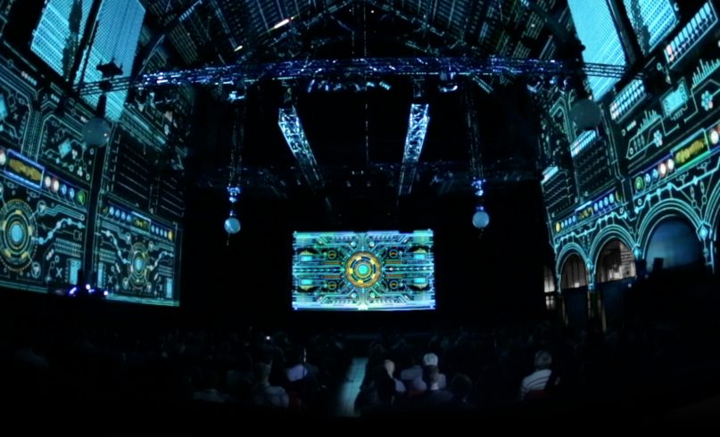 bose projection mapping experience amsterdam