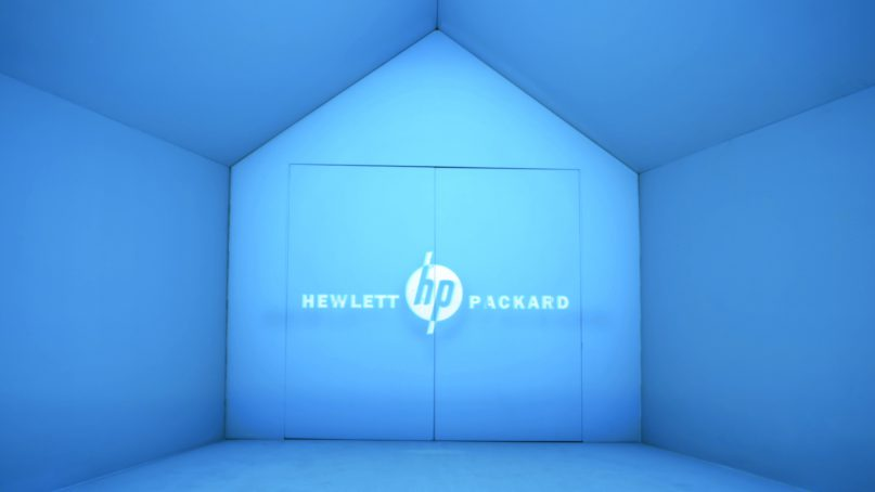 Projection mapping for HP