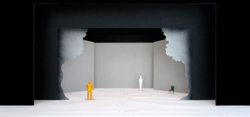 Set design for Wild Geese Dance Theatre