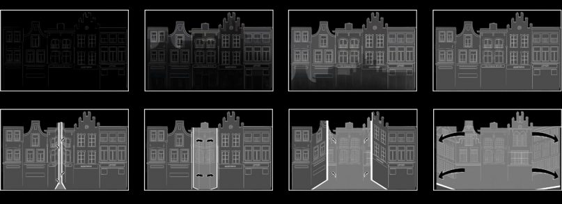 Storyboard for the Jeroen Bosch project