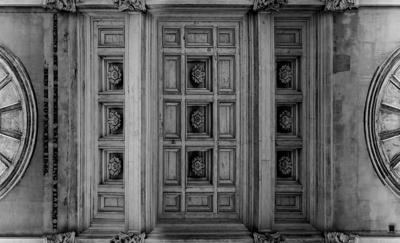 Haarlemmerpoort ceiling photo
