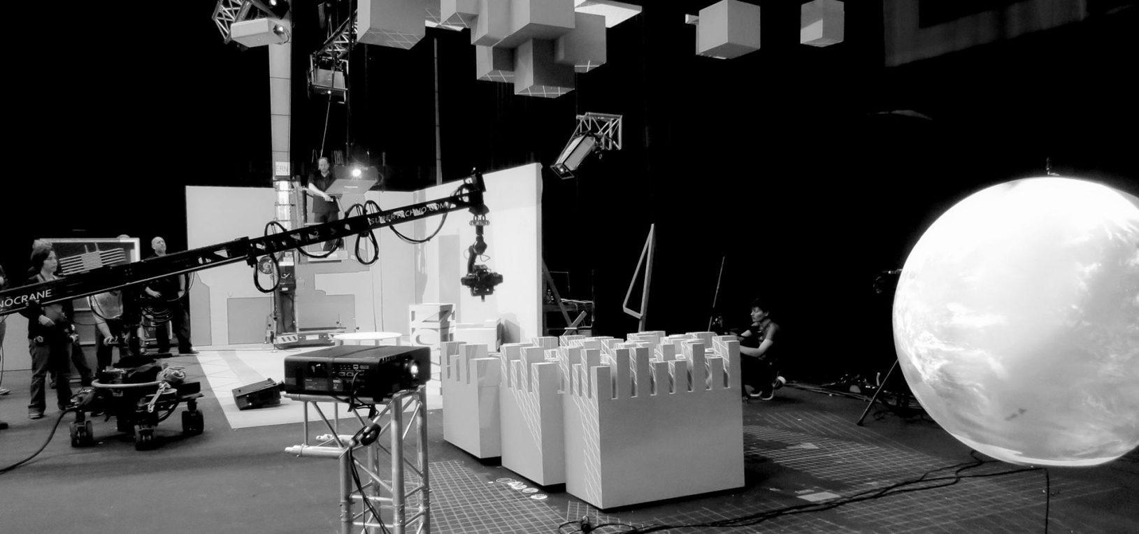 Mr.Beam studio Projection mapping behind the scenes