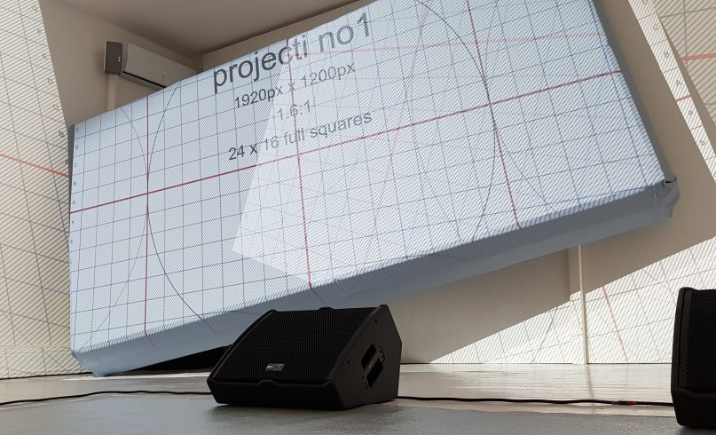 projection mapping grid