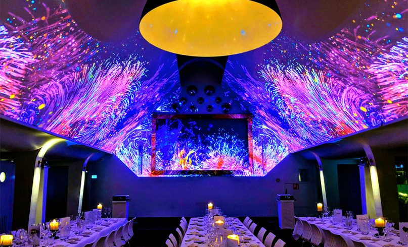 Immersive projection mapping for Canon