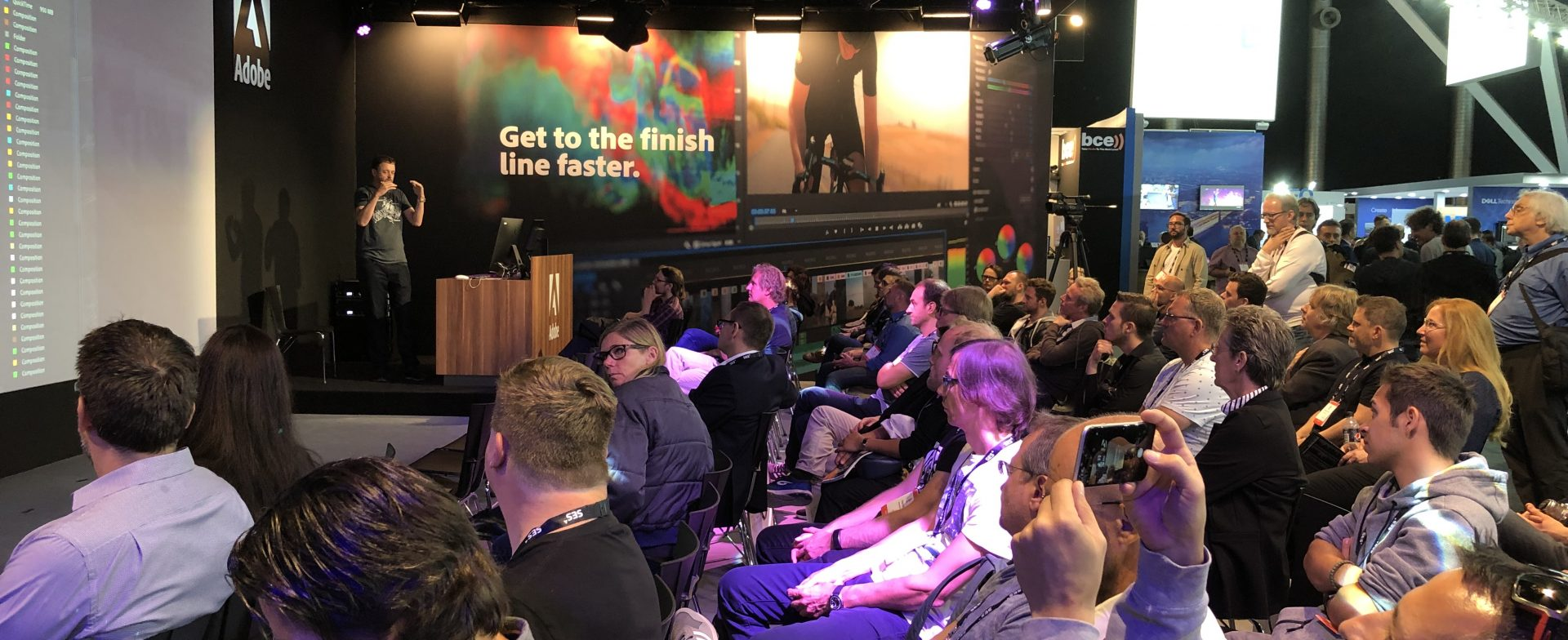 Technical setup and production for Adobe IBC 2019