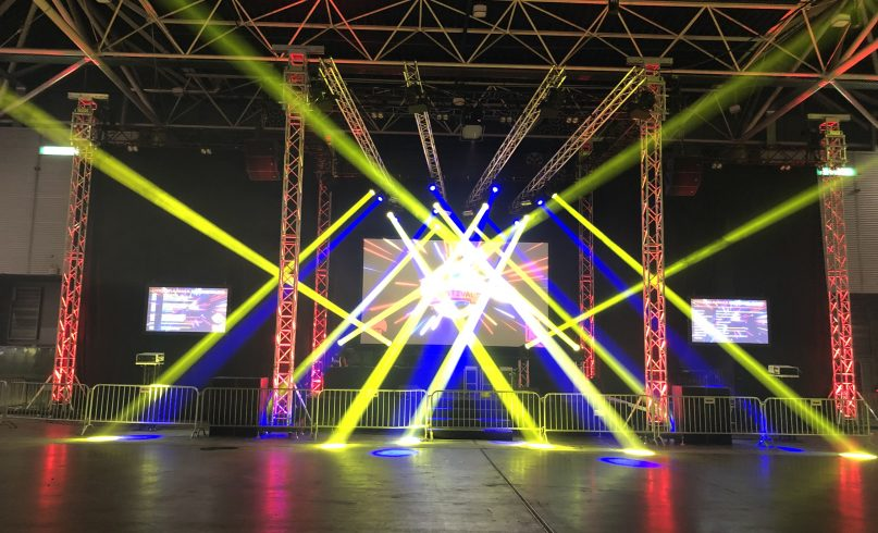 Technical production for first look festival