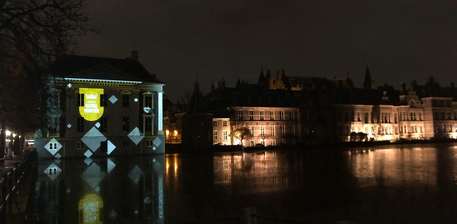 Projection mapping Mauritshuis interactive design